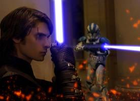 Anakin Skywalker -Star Wars Ep III by JonhMartinezSky