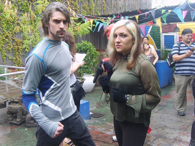 Quicksilver Avengers 2 Costume Quicksilver - Avengers 2 by