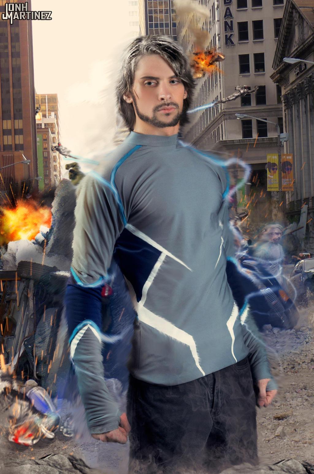 2019 year look- Avengers Quicksilver 2 costume