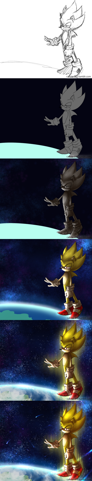 Super sonic coloring process by Calista-222