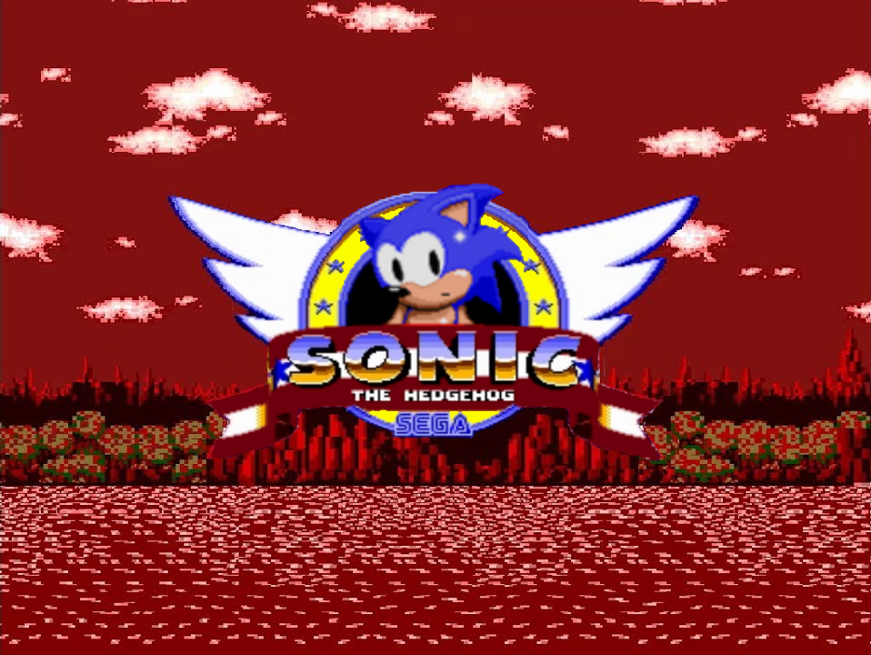 Sally exe C N  - Sonic Title Screen?! (FAKE) by