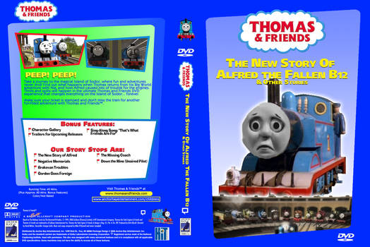 The New Story of Alfred the Fallen B12 on DVD?!?