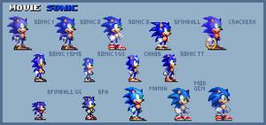 Movie Sonic Styles