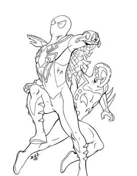 Spidermen lines