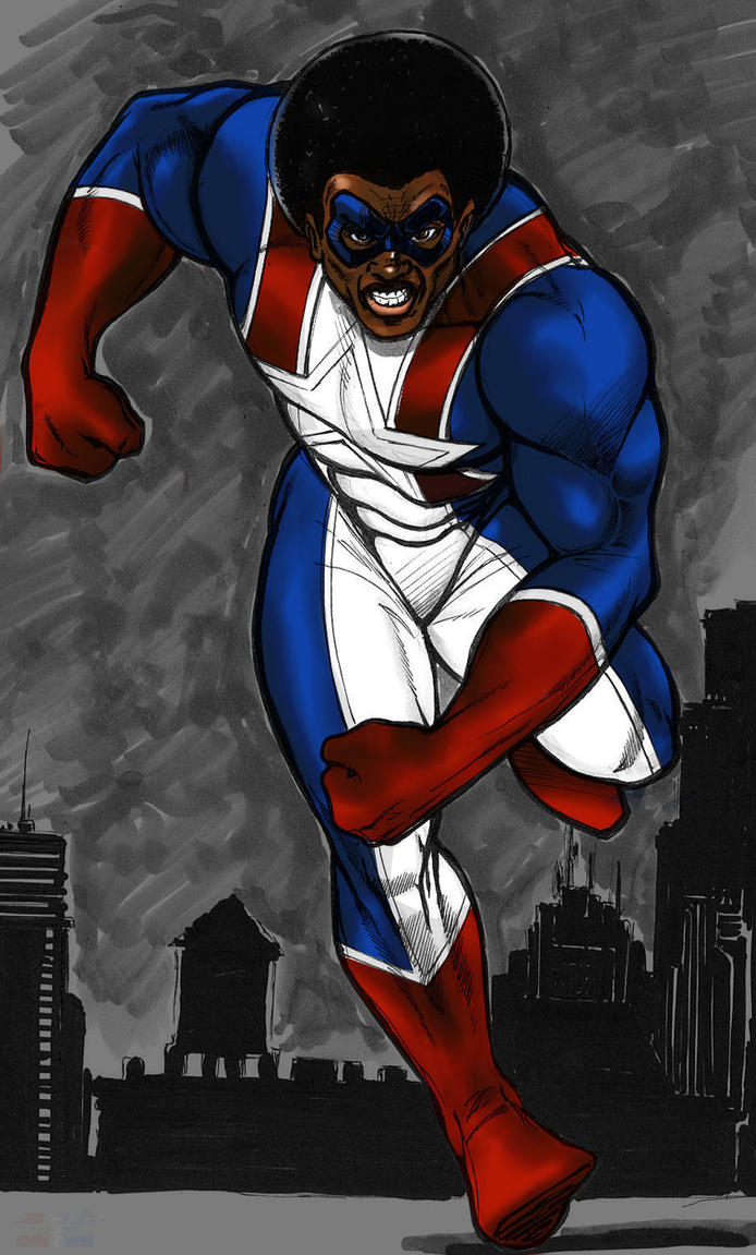 Afro American by BrothaJ2 by Chizel-Man