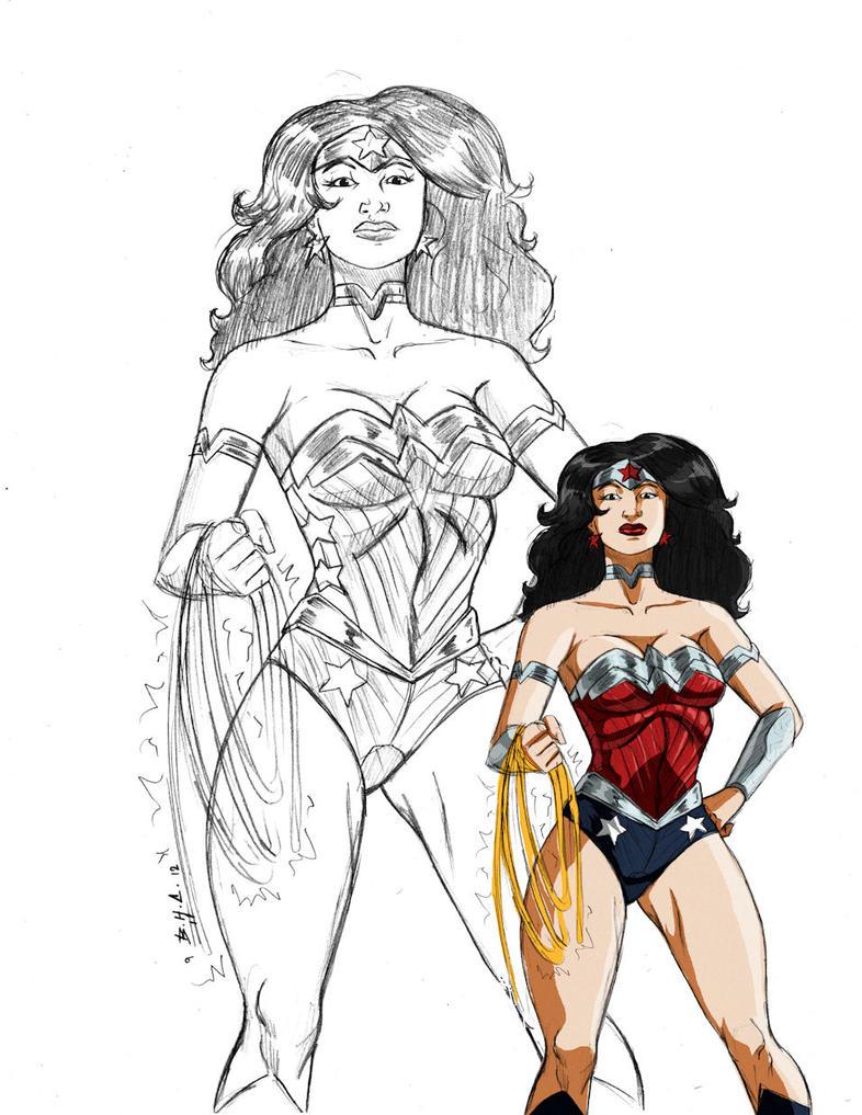 WonderWoman 52 sketch by Chizel-Man