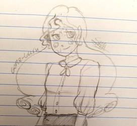 Mnemosyne doodle by G0ne-Guru
