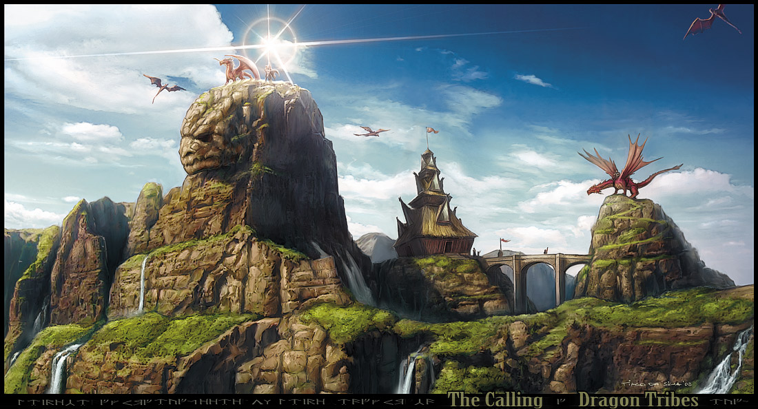 Dragon Tribes THE CALLING by Grafik