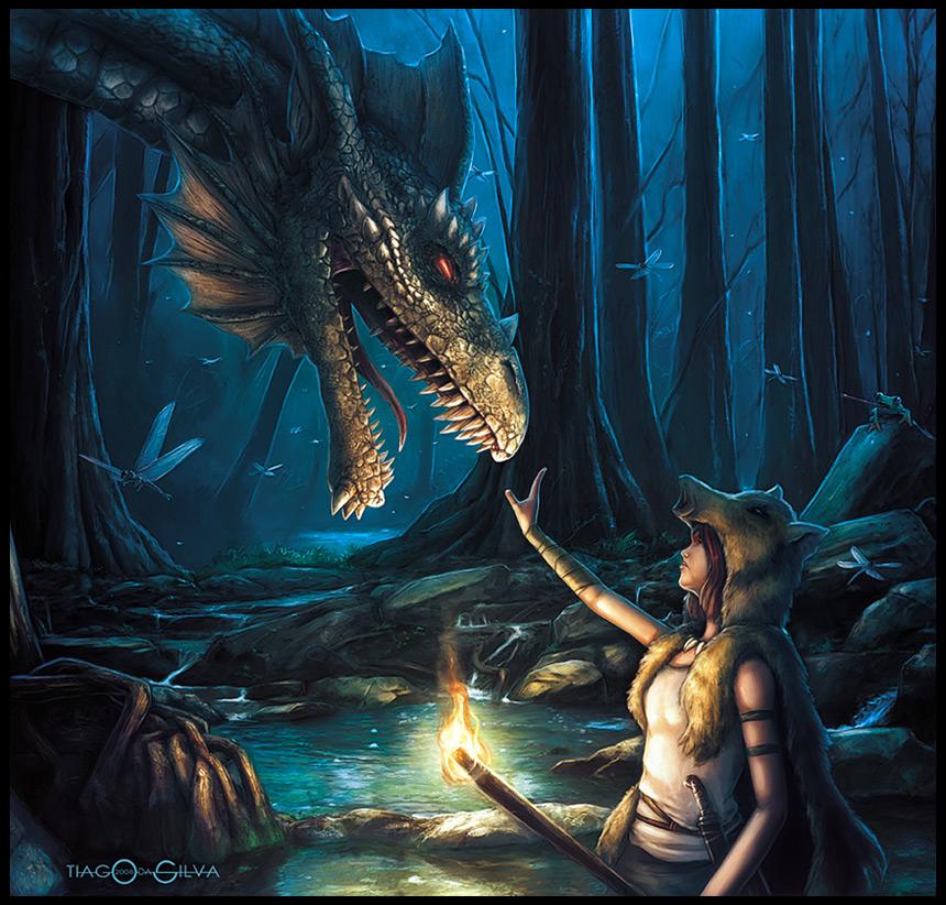The Dragon Master by Grafik