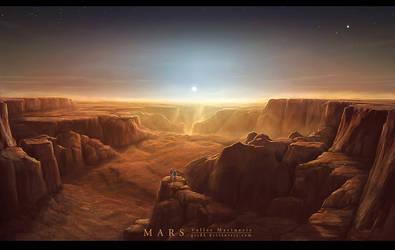 MARS Valles Marineris II by Grafik