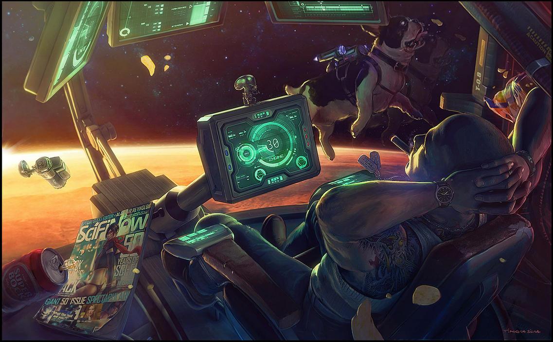 Mars 2077 by Grafik