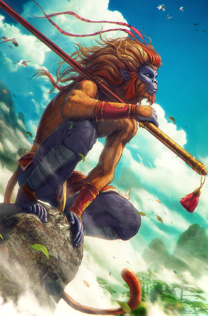 MONKEY KING Sun Wukong by Grafik