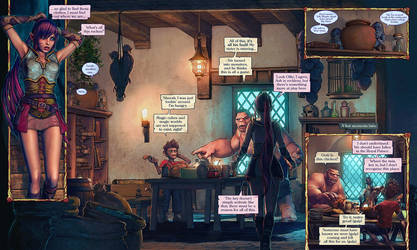 Legend of Adora - A Comic Book Saga pages 032-033