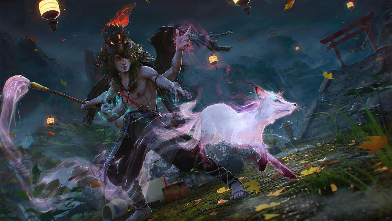 Artist Avatar Challenge, The Yokai