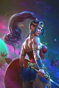 Immortal Wonder Woman 1 Variant Cover