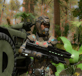 Infantry Escort