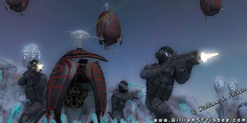 Orbital Drop Troops