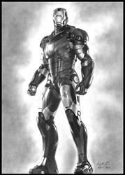 Iron Man Mark III by konspiracie