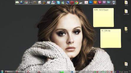 Adele desktop by konspiracie