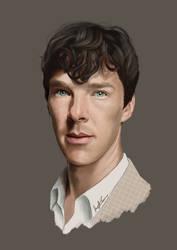 Benedict Cumberbatch by konspiracie