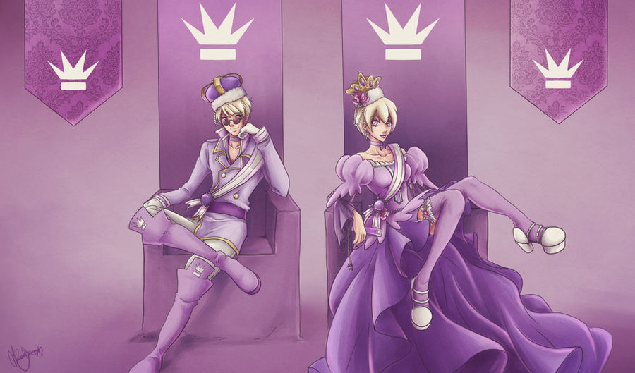[Homestuck] Derse Royalty