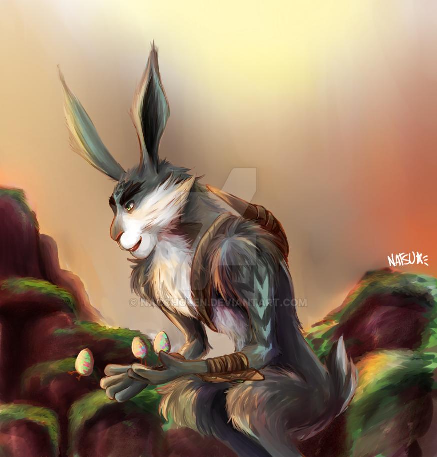 [ROTG] Bunnymund by naccholen