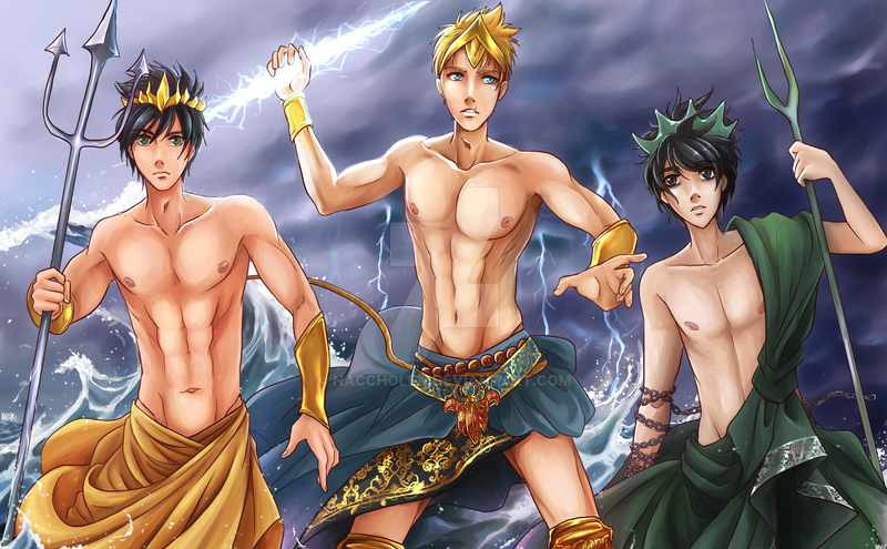 Heroes of Olympus by naccholen