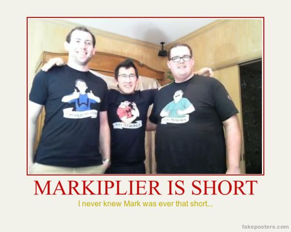 Markiplier Is Short by MalGirl101