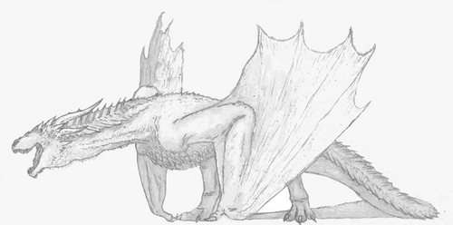 Drogon by randomdinos