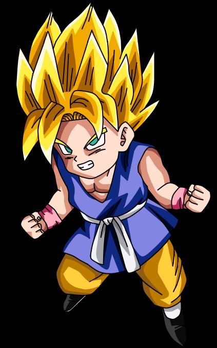 Kid Goku GT SSJ by liciuscontrabici on DeviantArt