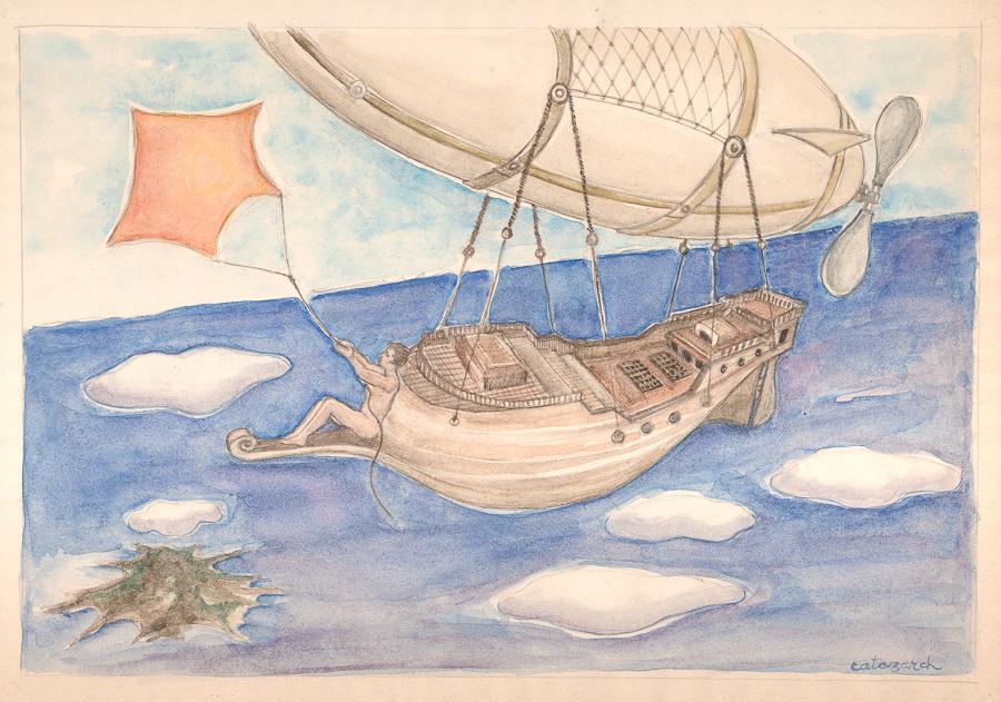 Commission - Galeon Dream by KatyAmlie