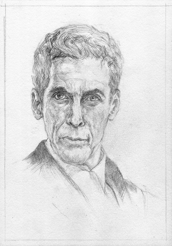 Dr. Who (sketch) by KatyAmlie