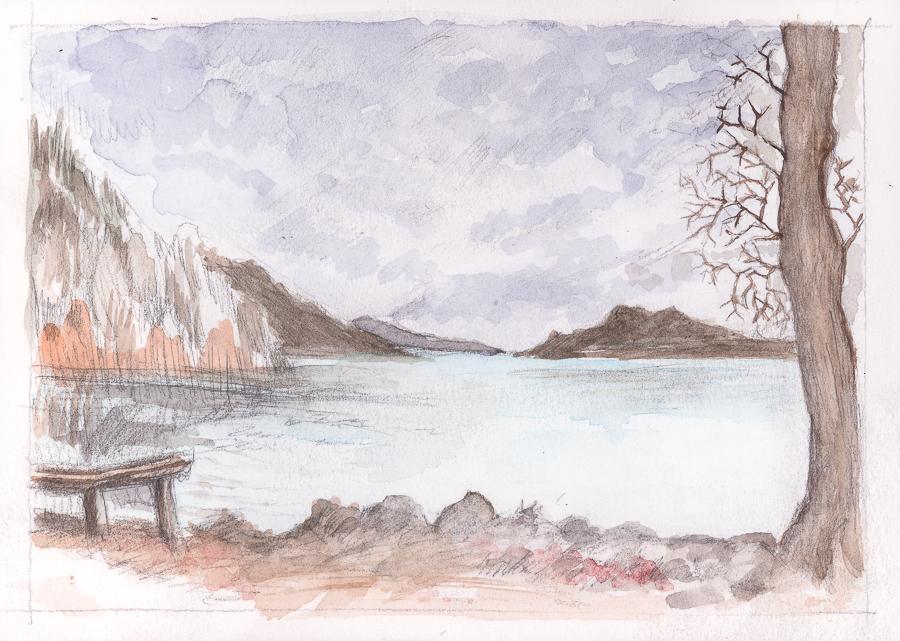 Japanese Lakeside by KatyAmlie