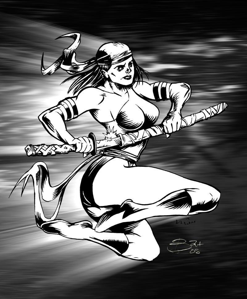 Elektra Inks by devgear