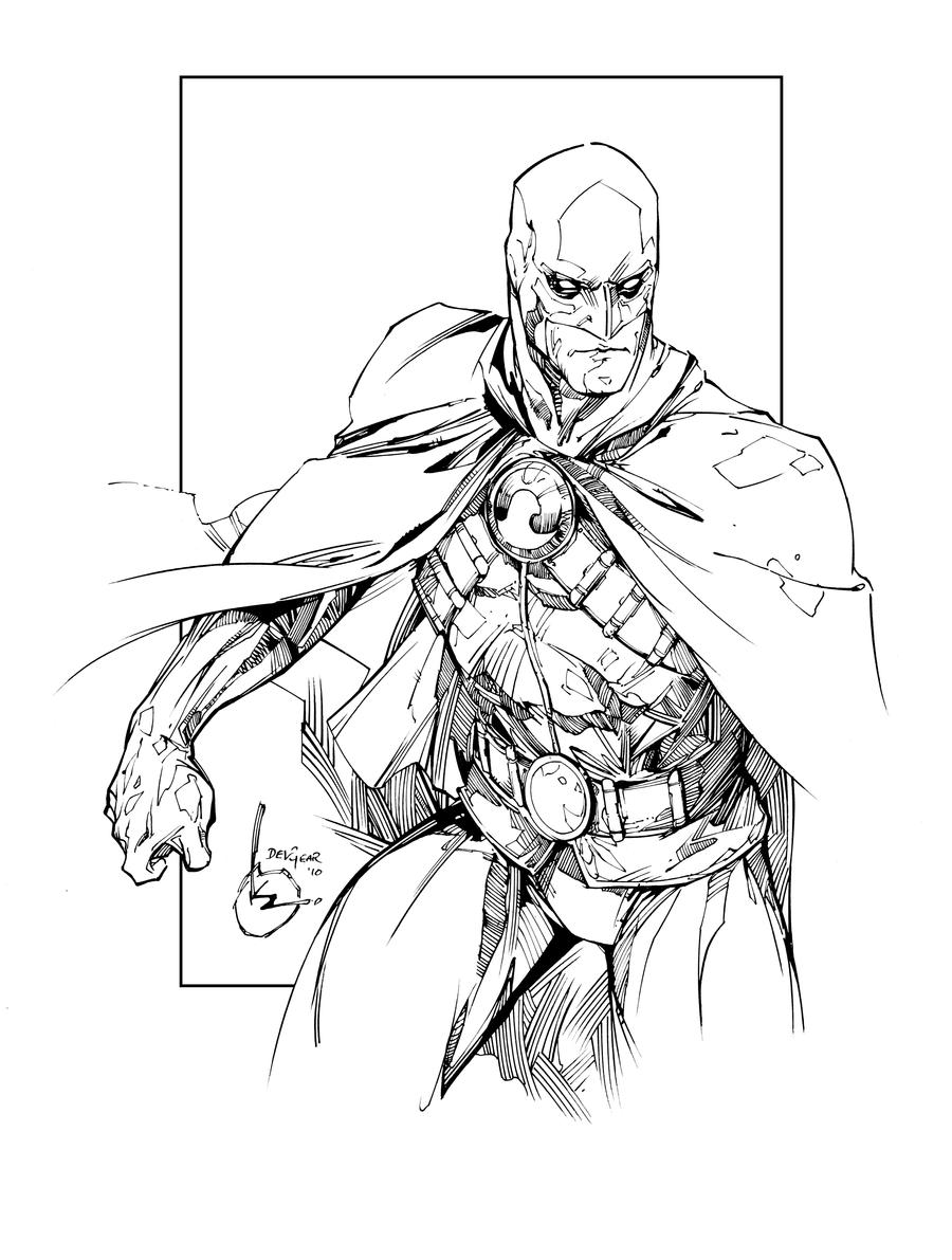 Drawing Red Lines With Green Ink : Red robin inks by devgear on deviantart