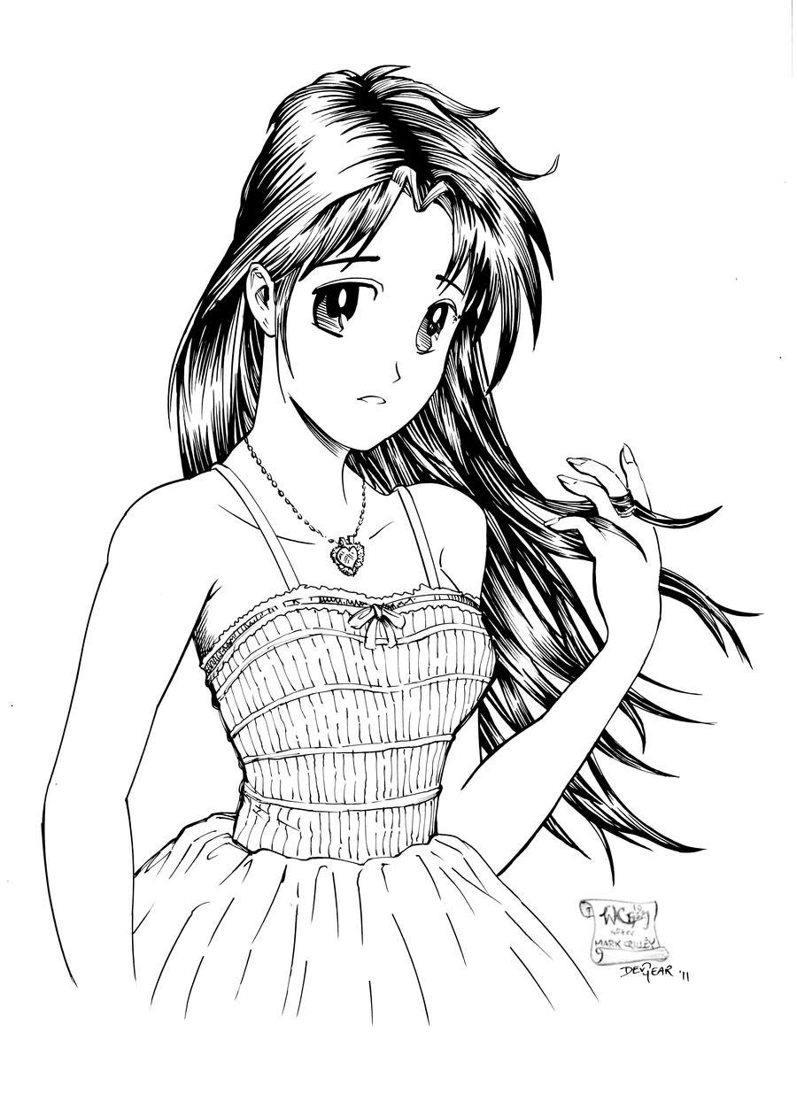 Innocent Girl Inked