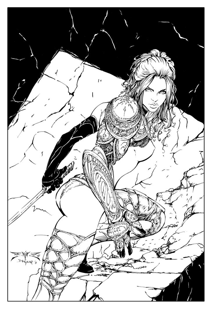 Wraithborn Cover 2a Inks by devgear