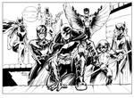 DCNU Bat Family Inks