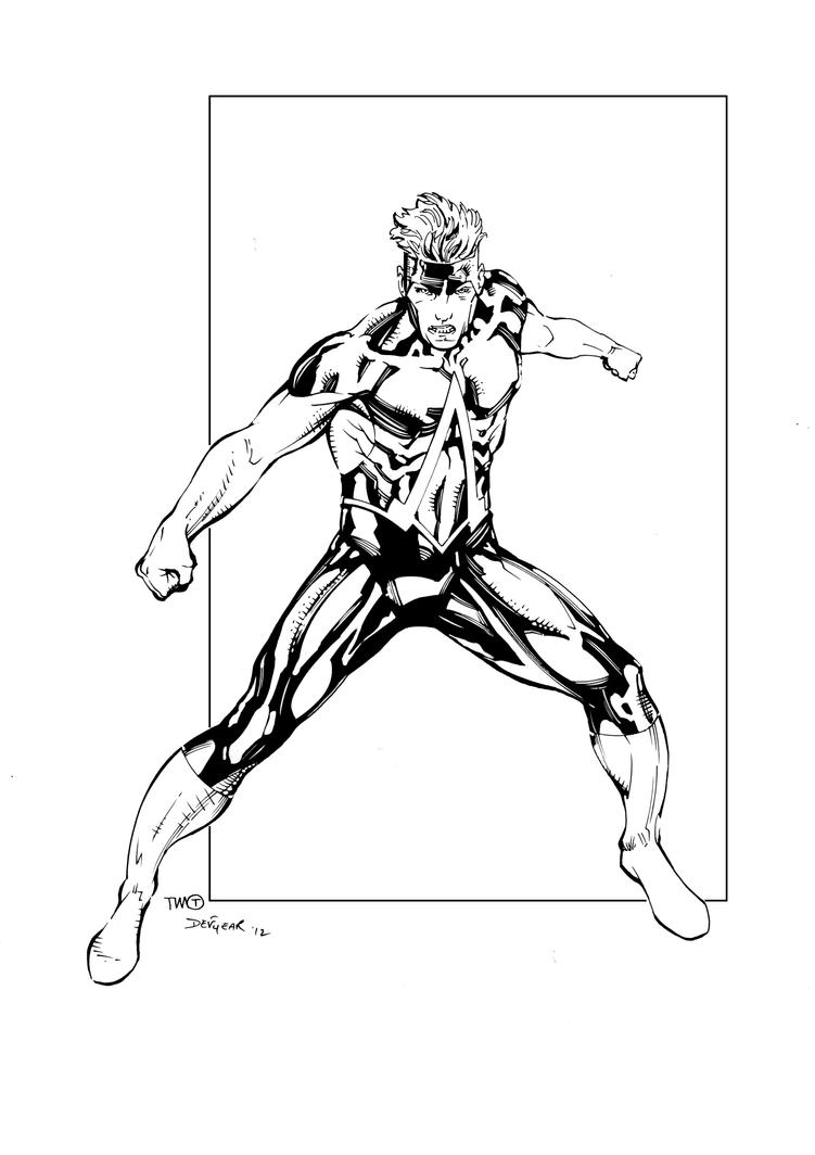 Animal Man Inks by devgear