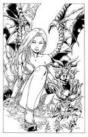 Darkchylde-Inks by devgear
