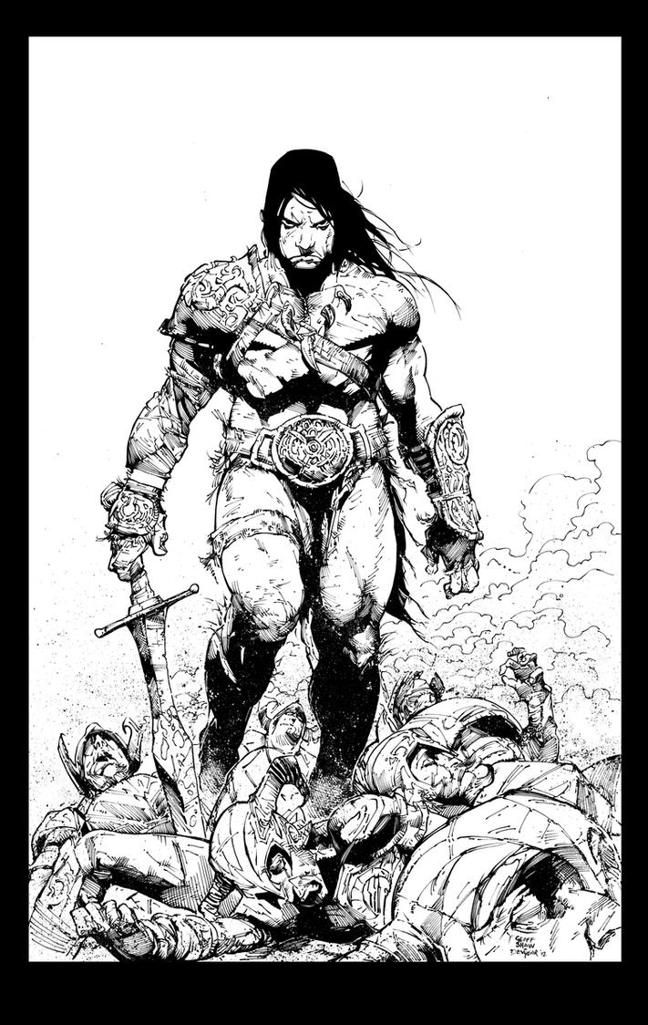 Conan Inks by devgear