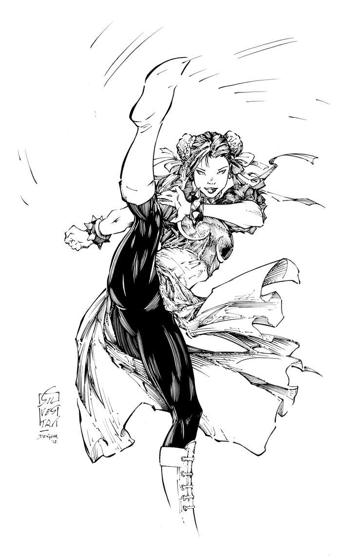 Chun Li Inks by devgear