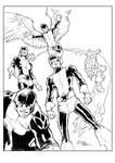 Original X-Men Inks