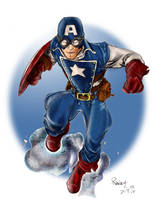 Captain America Colors by devgear