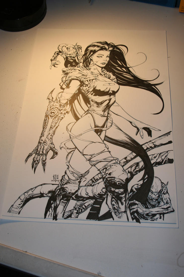 Witchblade WIP by devgear