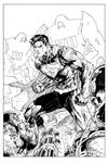 Action Comics 1 Cover Inks