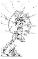 Cyblade Cover Inks by devgear