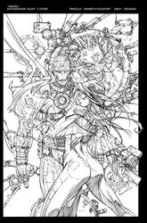 Astonishing Tales Cover Inks