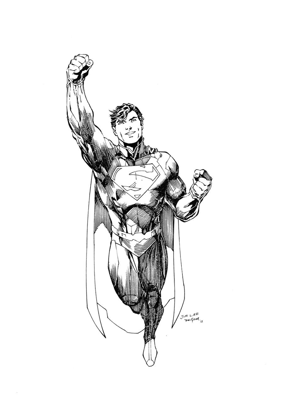 Superman  Inks by devgear