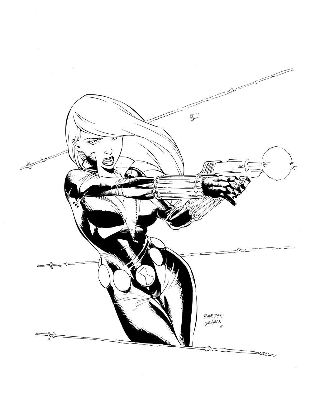 Black Widow Inks by devgear